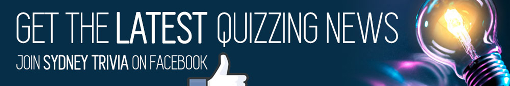 Sydney Quiz Nights on Facebook